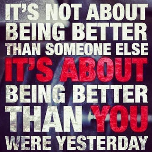 learn to be better